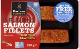 Harbour salmon co. infusions try me free pack