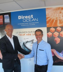 Frank Paque (left), managing director of Freshpack and Sebastien Roussel, of Direct Ocean.