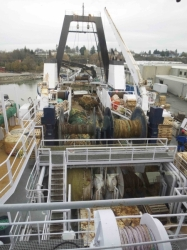 American Seafoods' Northern Eagle finishes up 2014 hake season